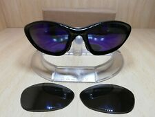 Vintage Oakley Twenty Sunglasses + new pair of polarized lenses purple mirror