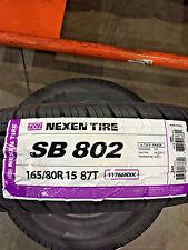 2 New 165 80 15 Nexen SB-802 Tires