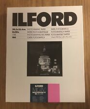 New listing Photographic Paper Ilford Multigrade Iv Rc Deluxe Glossy 8x10in Brand New