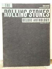 THE ROLLING STONES DELUXE ANTHOLOGY (1991) guitar sheet music book
