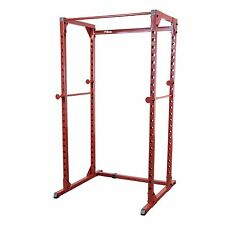 Power Squat Rack Best Fitness BFPR100 500 lb capacity Home Gym Weight Equipment