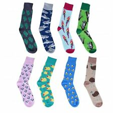 Sock 8 PK Unisex Stance Funky Novelty Odd Gift Party Casual Formal Work Sox Set3