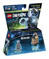 Dr.who Cyberman Lego Dimension Fun Pack Video Game Toy Action Figure