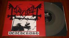 MAYHEM DEATHCRUSH LP *RARE* CLEAR VINYL BOB PRESS 2009 GATEFOLD LIMITED UK New