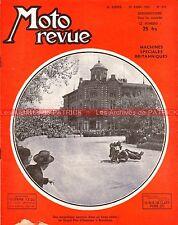 MOTO REVUE  979 AMAL T10 RN MATCHLESS G80 350 OEC 125 Grand Prix BARCELONE 1950
