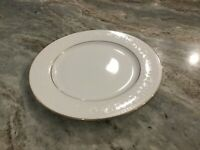 """White Lace Gold by NIKKO 10 5/8"""" DINNER PLATE, Thailand"""