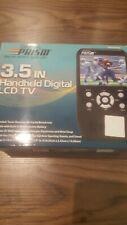 """Digital Prism 3.5"""" Handheld LCD Portable TV Rechargeable New"""