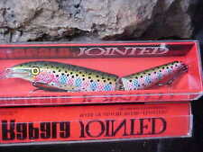 Rapala Jointed Minnow J13 RT - RAINBOW TROUT for Bass/Pike/Pickerel/Salmon/Trout