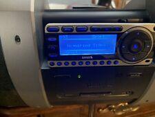 Sirius Satellite Radio Plug and Play Boombox SUBX1  With Remote & Window Mount