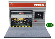 Diorama présentoir Ducati - 1/18ème - #MR18S017