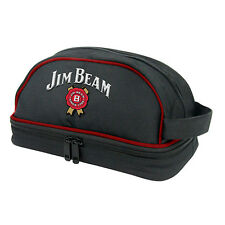 Jim Beam Logo Toiletry Camping Soap Bag Great Gift Man Cave Fathers Day (JB152A)