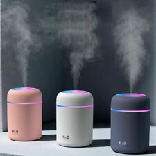 LED LIGHT UP Air Oil Aroma Diffuser Humidifier Electric Essential Purifier 300ml