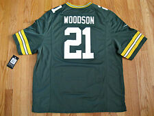 NIKE On Field Green Bay Packers Charles Woodson NFL Jersey 2XL *NEW*