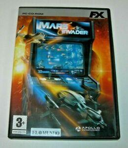 Mars Invader PC edición española muy buen estado