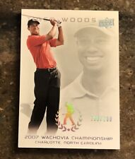 New listing 2013 UD MASTER COLLECTION #57 TIGER WOODS RED N BLACK SUNDAYS WACHOVIA PGA #/200