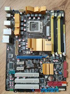 ASUS P5Q Lga 775 Mainboard + Blende