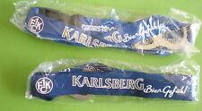 1.FC KAISERSLAUTERN UND KARLSBERG BIER-SCHLÜSSELBAND MIT ÖFFNER IN OVP-SCHAUEN-