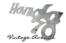 HONDA C70 LEGSHIELD FRONT COVER CHROME EMBLEM