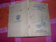 ALBUM FIGURINE AEREOPLANI--AEROPLANES CIVIL-CARDS - JOHN PLAYER & SONS - RARO