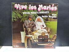 JACKIE NOGUEZ Vive les mariés LP 6400 MUSETTE ACCORDEON ( Photo voiture )