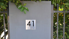 Stainless Steel Custom Made House Sign Laser Cut Plaque 3D Laser Cut Numbers