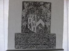 Brass rubbing BERE REGIS DORSET, JOHN & MARGARET SKERNE 1596 achievement .. 25/1