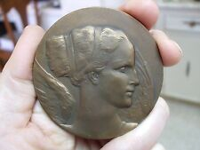 RARE! Philatelic Exposition Exphisalm at Vielsalm 1967 Bronze Medal M23b