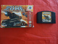 Battlezone: Rise of the Black Dogs  (Nintendo 64, 2000) N64 w/ Box game WORKS!