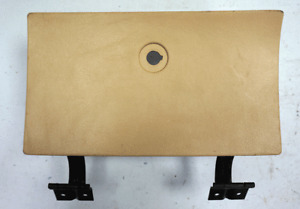 1978-1982 Chevy Corvette C3 Glove Box Door Lid Used Tan W/Hinges No Lock