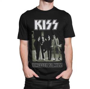Kiss Band Rock T-Shirt, Gene Simmons Paul Stanley Tee, Gildan T Shirt
