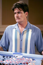Charlie Sheen In Classic Shirt Two And A Half Men 11x17 Mini Poster