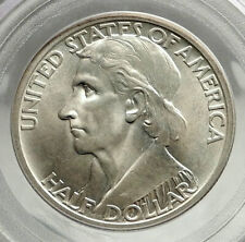 1934 DANIEL BOONE 200th Commemorative US Silver Half Dollar Coin PCGS MS i76425