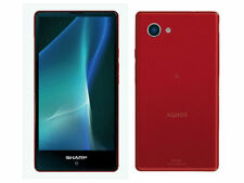 SHARP SH-M03 AQUOS MINI ANDROID COMPACT PHONE 4K UNLOCKED JAPAN NEW RED