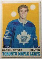 *WEEKEND SALE* 1970-71 OPC #218 DARRYL SITTLER ROOKIE CARD