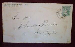 El Salvador Unknown Date Old Traveled Postal Entire 15 centavos