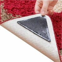 Corners Pad Anti Skid Non-slip Washable Silicone Ruggies Rug Carpet Mat Grippers