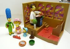 2001 SIMPSONS PLAYMATES TOYS SPRINGFIELD CHURCH & MORE WORKS! -SHL7#18