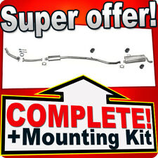 Peugeot 206CC 1.6 Coupe Cabrio 110HP 2000-2005 Silencer Exhaust System 926