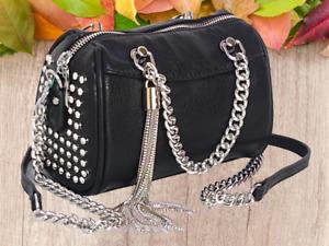 New 2021 Ladies Duffel Style Women Shoulder Bags Fashion Handbags Studs UK