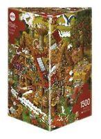 Heye Puzzles  HY08832 Heye Puzzles - Triangular 1500 pieces Funny Farm HY08793