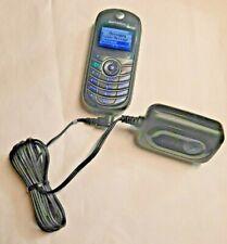 Motorola Tracfone C139 - At&T Sim Card - Battery & Charger - Moto