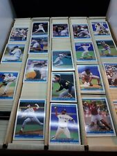 HUGE Lot of APPROX 4,900+ 1992 Donruss Baseball Cards Collection Stars NM-M