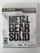 Metal Gear Solid: The Legacy Collection (Playstation 3 PS3) No Artbook New
