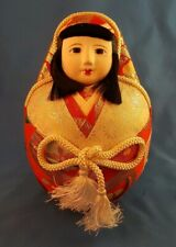 Antique Vintage Japanese Hina Doll Red