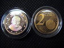 VATICANO euro 2006 MONETA CENT 2 eurocent FONDO a SPECCHIO PROOF FS PP BE