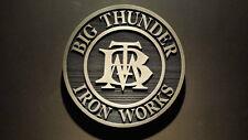 Disney Big thunder mountain iron works prop sign replica