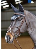 JohnWhitaker Valencia Mexican Luxury Bridle-Raised Stitching-Grackle-With Reins