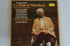 Verdi Un Ballo in Maschera Domingo Ricciarelli Gruberova Scala Muti (LP10)