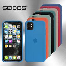 Flüssig Silikon Case für Original iPhone X XR XS 11 12 MAX Pro MINI Schutzhülle
