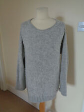 MARC CAIN PALE GREY WOOL MIX JUMPER